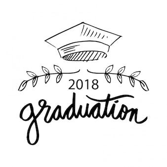 卒業のロゴ。