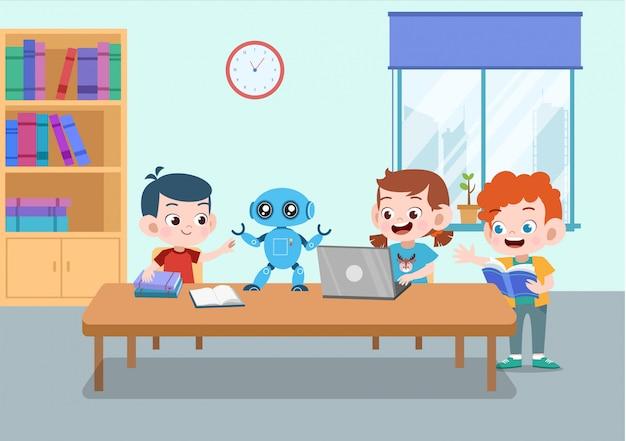 子供の遊びロボット