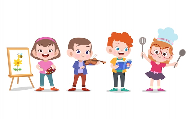 Детские хобби