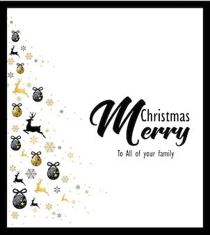 クリスマスツリーカード