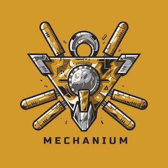 Механическая эмблема