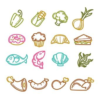 Набор общих и повседневных блюд