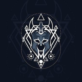 幾何学ガルディアーマスク