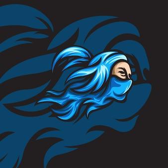 Синяя тень ниндзя