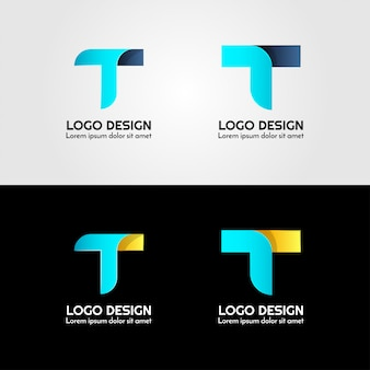 Креативный логотип письма