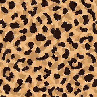 ヒョウの皮のシームレスパターン