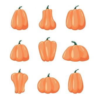 漫画ハロウィンかぼちゃセット。