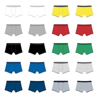 男性用パンツのセット
