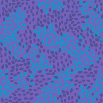 カラフルな抽象的なピンクの水玉のシームレスパターン