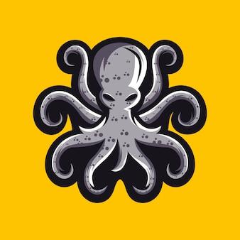 Дизайн логотипа осьминога