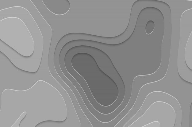 幾何学的な紙のカットの背景