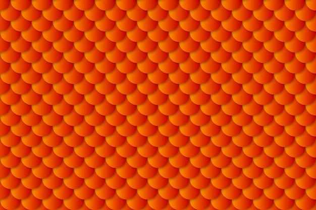 人魚の尾ホイルテクスチャ効果のシームレスパターン