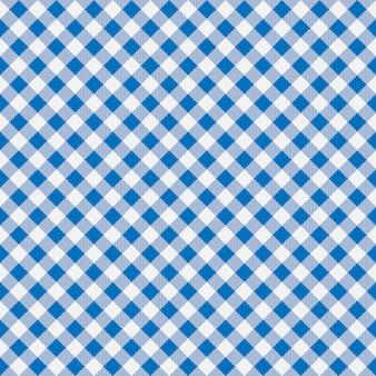 ギンガムのシームレスな格子縞のパターン。