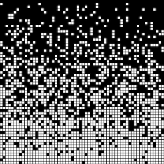 ピクセルの抽象的な背景