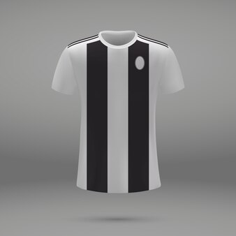 Футбольная форма ювентус, шаблон рубашки для футбольного трикотажа