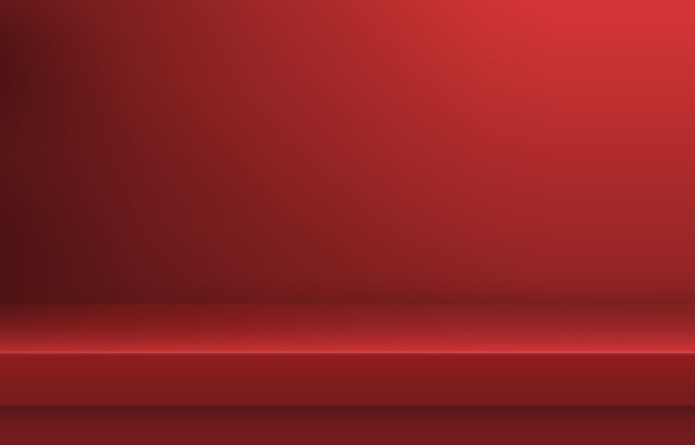 空の赤い色棚