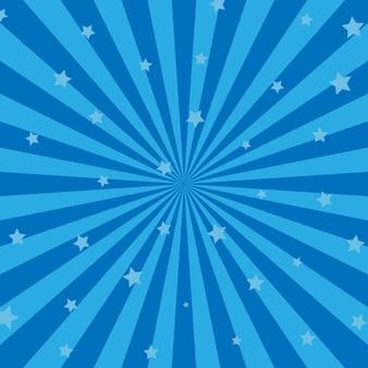 幾何学的な渦巻き模様の背景