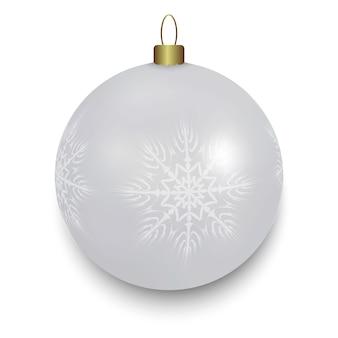 ホワイトクリスマスボール絶縁
