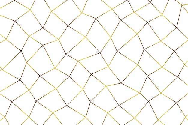 Золотой геометрический абстрактный фон.