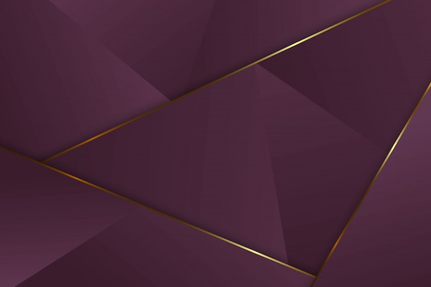 高級三角形の背景