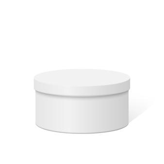 Пластиковая круглая контейнерная коробка