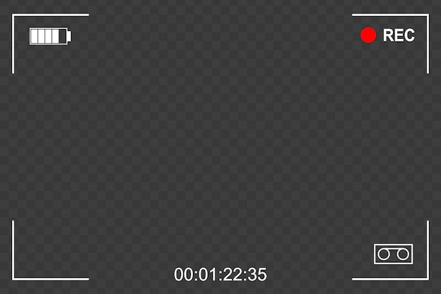 Фокус рамки экрана камеры