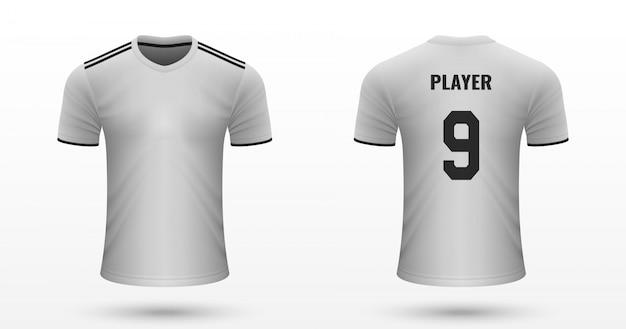 リアルなサッカーシャツ