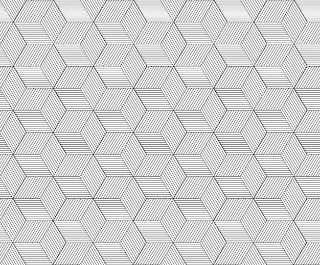 Абстрактный геометрический узор с линиями