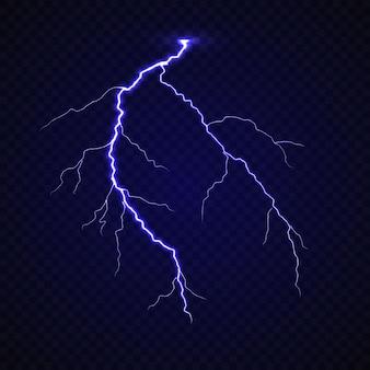 Реалистичный удар молнии грома