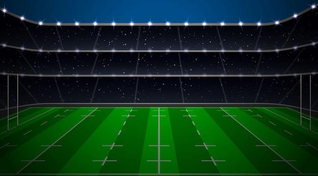 Регби футбольный стадион