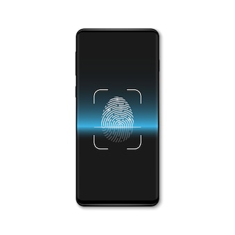 生体認証指紋スキャン、識別システム