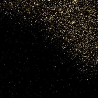 Фоновый эффект частиц блеска