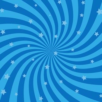 幾何学的な渦巻きの背景