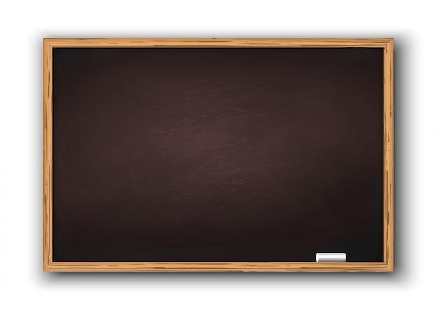 木製フレームと黒板