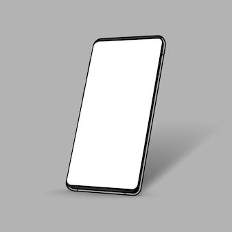 Реалистичный смартфон в перспективе
