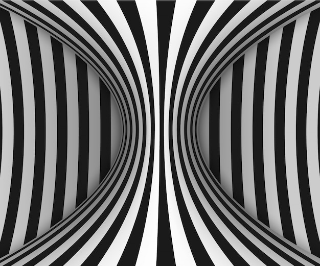 Линии оптической иллюзии