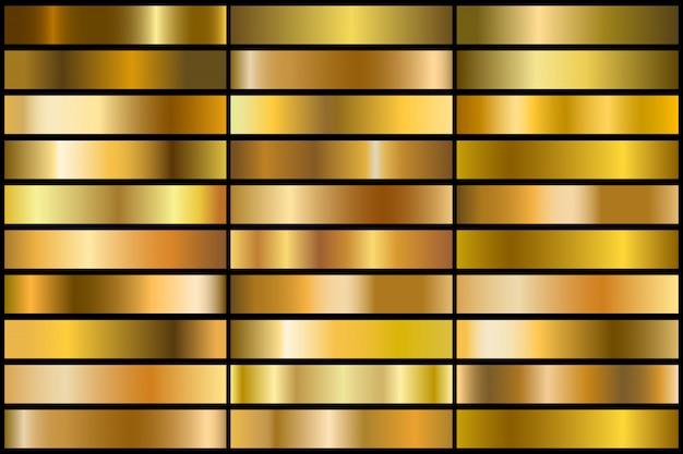 ゴールドグラデーション
