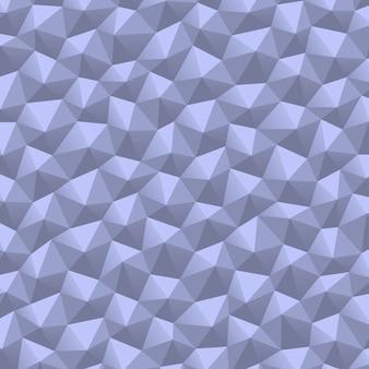 三角形の幾何学的な抽象的なホワイトペーパーの背景