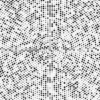 点線の抽象的な背景の