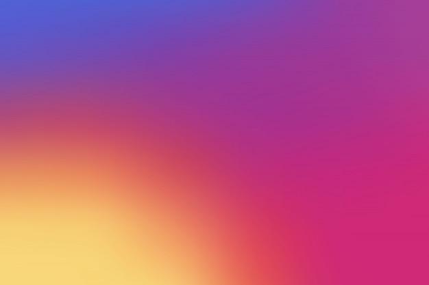 Красочный гладкий градиент фона