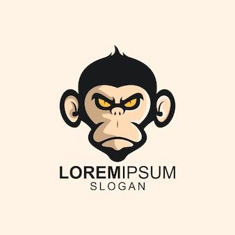 Логотип обезьяна