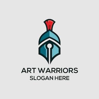 アート戦士のロゴ