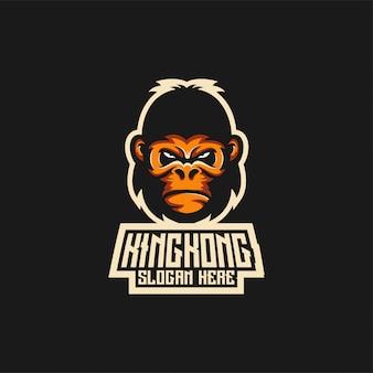 Кинг конг логотип идеи