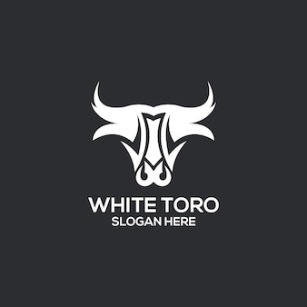 Белый торго логотип