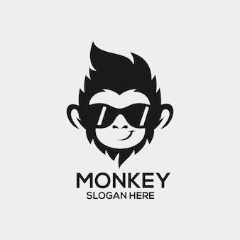 猿のロゴのアイデア