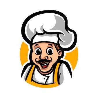 シェフのマスコットの漫画のキャラクター