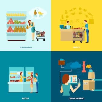 Набор символов покупателя