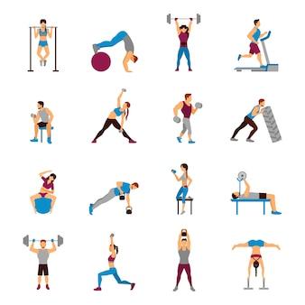 筋力トレーニングトレーニングセット