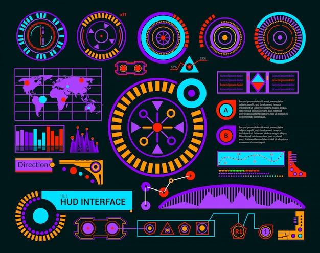 Черный интерфейс