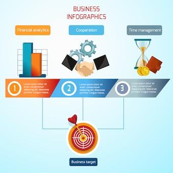 Набор бизнес инфографики